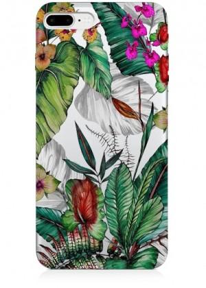 Tropikal Çiçekli Telefon Kılıfı