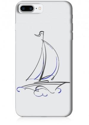 Gemi Çizimli Telefon Kılıfı