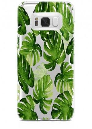 Yeşil Yaprakli Telefon Kılıfı