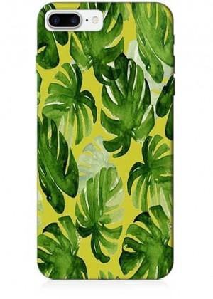 Yeşil Yapraklı Renkli Telefon Kılıfı