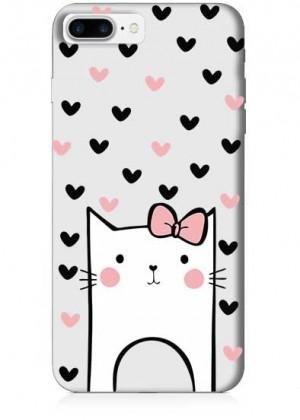 Sevimli Kedi Telefon Kılıfı