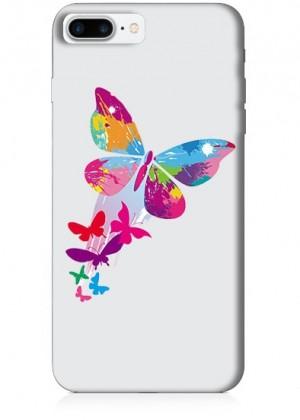 Renkli Kelebekler Telefon Kılıfı