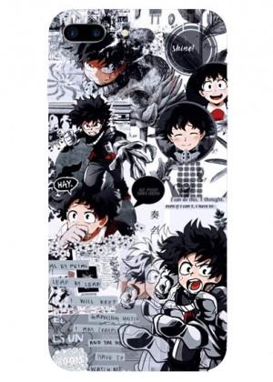 Siyaz Beyaz Anime Telefon Kılıfı