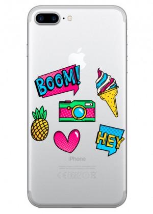 Ananaslı Pop Art Telefon Kılıfı