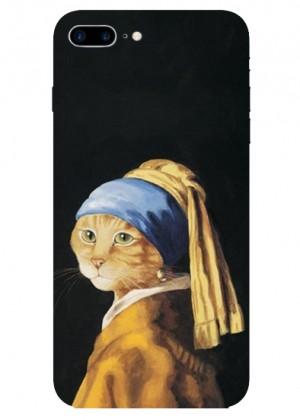 İnci Küpeli Kedi Telefon Kılıfı