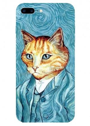 Kedili Van Gogh Telefon Kılıfı