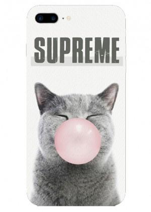 Supreme Kedi Telefon Kılıfı