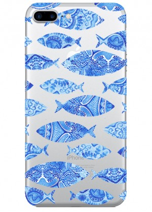 Balık Desenli Telefon Kılıfı