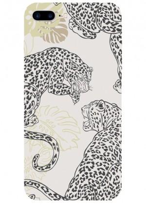 Safari Leopar Desenli Telefon Kılıfı