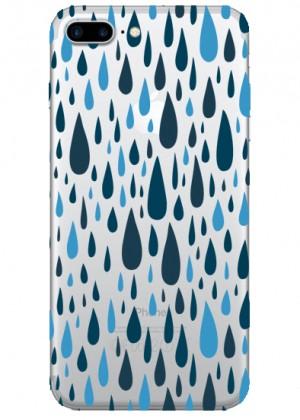 Yağmur Damlası Desenli Telefon Kılıfı