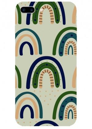 Yeşil Bohem Desenli Telefon Kılıfı