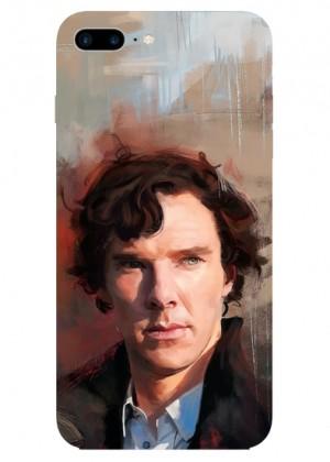 Renkli Sherlock Holmes Telefon Kılıfı
