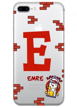 E Harfi Grafiti Telefon Kılıfı