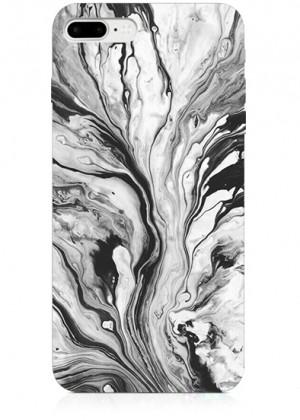 Bulanık Mermer Desenli Telefon Kılıfı