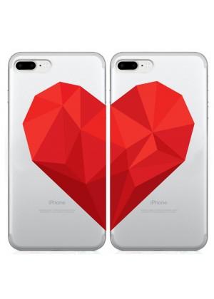 Kalpli Sevgililer Günü Telefon Kılıfı