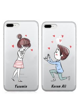 Romantik Aşıklar Telefon Kılıfı