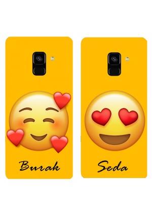 Çiftler için Emojili Telefon Kılıfı