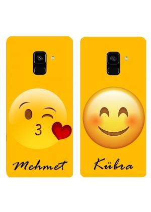Sevgililer için Emojili Telefon Kılıfı