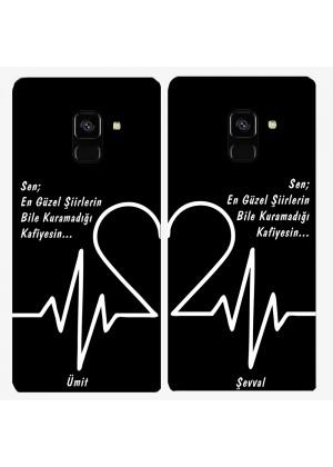 Sevgiliye Özel Şiirli Telefon Kılıfı