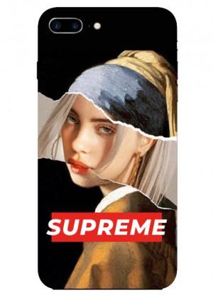 Supreme İnci Küpeli Kız Telefon Kılıfı