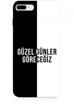 Siyah Beyaz Beşiktaş Telefon Kılıfı