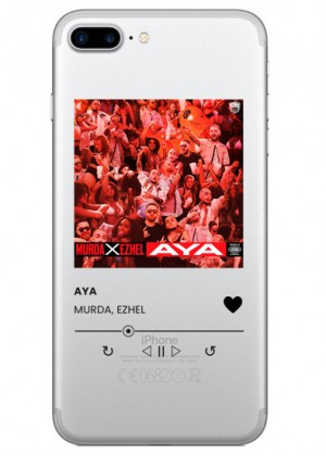 Spotify Şeffaf Telefon Kılıfı Model 1