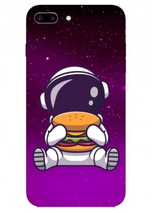 Hamburger Sever Astronot Telefon Kılıfı