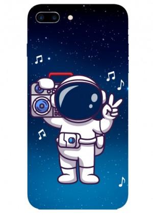 Müzik Sever Astronot  Telefon Kılıfı