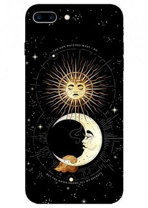 Güneş ve Ay Temalı Telefon Kılıfı