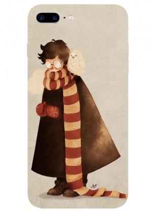 Harry Potter ve Baykuşlu Hedwig Telefon Kılıfı