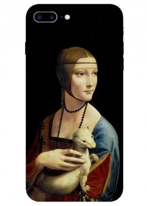 Leonardo Da Vinci Kikimli Kadın Tablosu Telefon Kılıfı